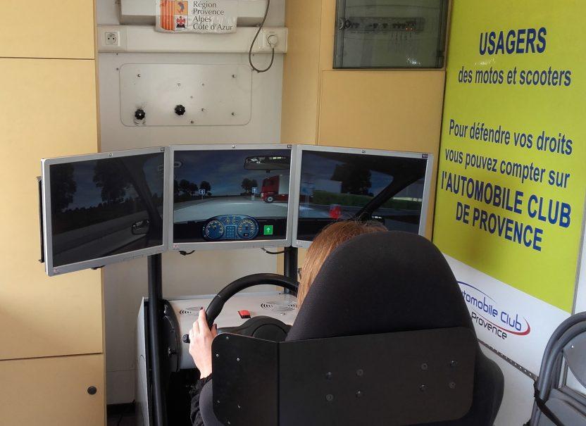 Notre simulateur de conduite
